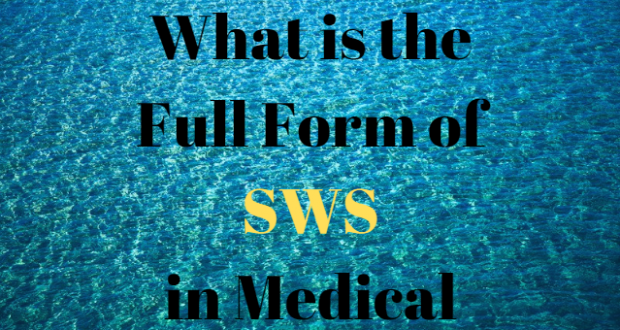 SWS Full Form| #SWS Acronym, #SWS Abbreviation #SWS Term #SWS Definition #SWS Stands For #SWS Meaning