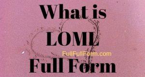 FullFullForm: LOML Full Form, LOML Acronym, LOML Abbreviation, LOML Full Form, LOML Ki Full Form, LOML Full Form in Hindi, LOML Meaning, LOML Full Form in Hindi, LOML Ki Hindi Me Full Form, LOML को हिंदी में क्या कहते है?, LOML Internet Slang, LOML Definition, LOML Definition in Hindi, लोमल फुल फॉर्म. LOML Meaning in Instagram| LOML Slang meaning in Facebook| LOML Full Form in dating| LOML full form in Twitter in texting and chatting